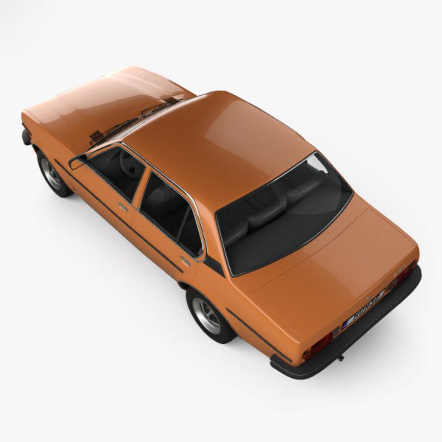 Опель аскона берлина 1975 royalty-free 3d model - Preview no. 9