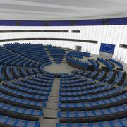 Sala UE 3d model