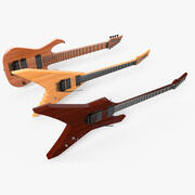 E-Gitarren-Set 3d model