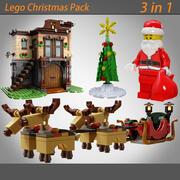 3 w 1 (Boże Narodzenie Lego) 3d model