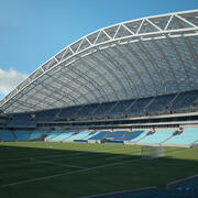 Stade olympique Fisht 3d model