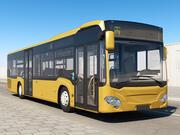 Городской автобус Универсальный 3d model