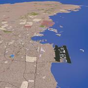 Cidade de Doha 3d model