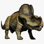 Protoceratops 3D (uzbrojony) 3d model