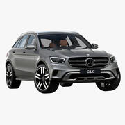 2020年梅赛德斯-奔驰GLC 3d model