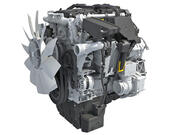 Silnik Diesla Detroit DD5 3d model