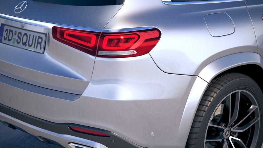 Mercedes-Benz GLS 2020 royalty-free 3d model - Preview no. 4
