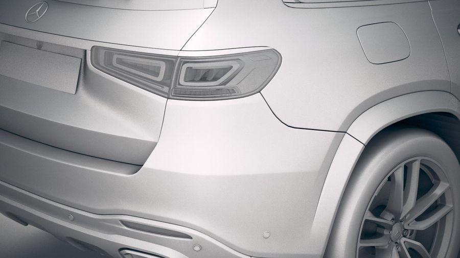 Mercedes-Benz GLS 2020 royalty-free 3d model - Preview no. 20