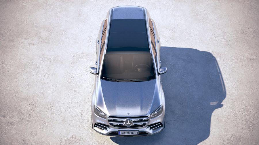 Mercedes-Benz GLS 2020 royalty-free 3d model - Preview no. 9