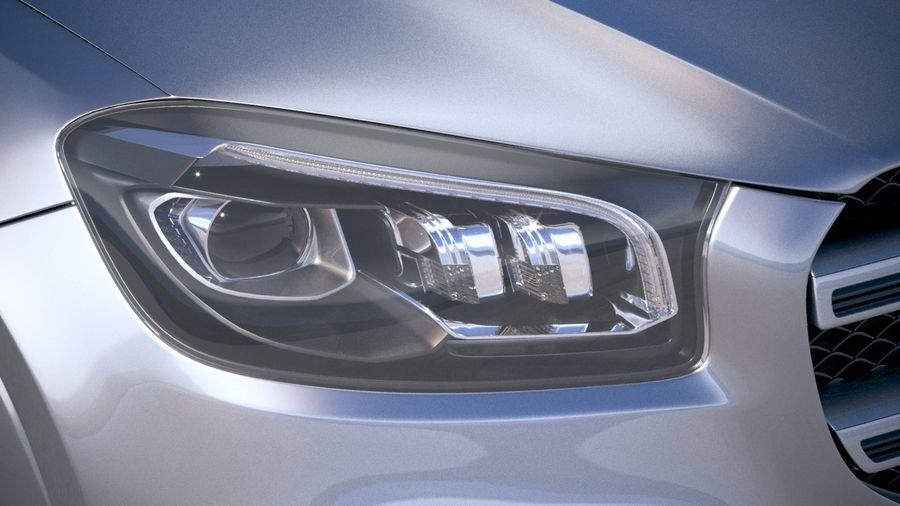 Mercedes-Benz GLS 2020 royalty-free 3d model - Preview no. 16