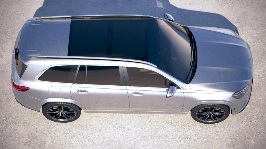 Mercedes-Benz GLS 2020 royalty-free 3d model - Preview no. 8