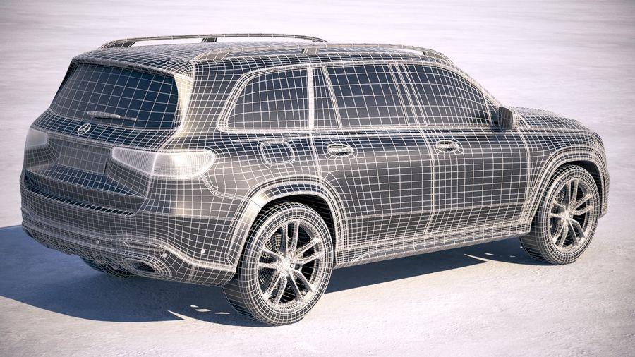 Mercedes-Benz GLS 2020 royalty-free 3d model - Preview no. 28
