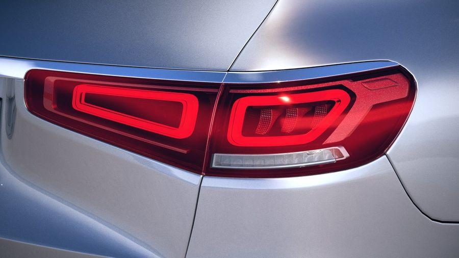 Mercedes-Benz GLS 2020 royalty-free 3d model - Preview no. 17