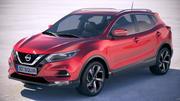 Nissan Rogue Sport 2020 3d model