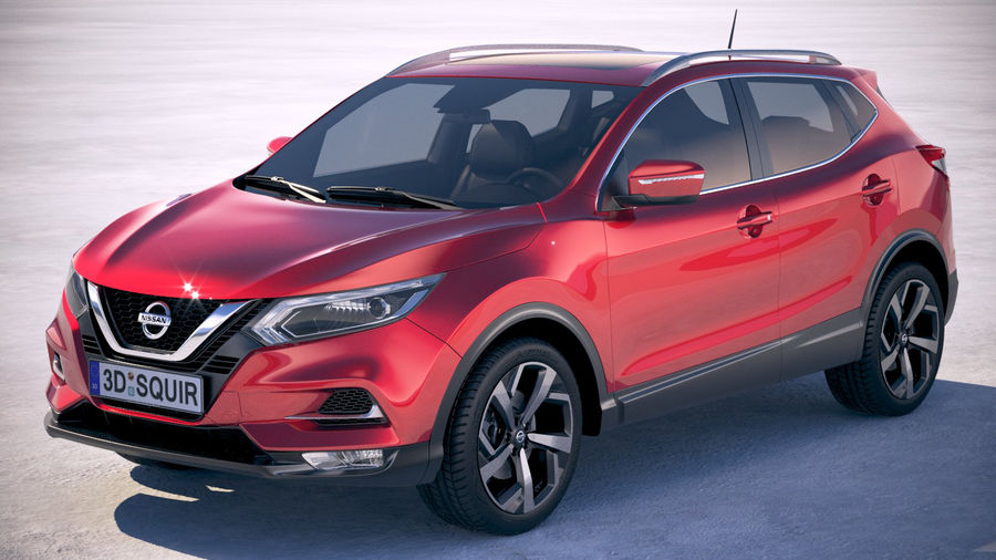 Nissan Rogue Sport 2020 royalty-free 3d model - Preview no. 1