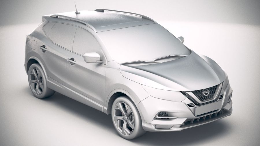 Nissan Rogue Sport 2020 royalty-free 3d model - Preview no. 22