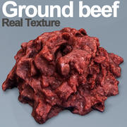 Ground Beef HD 3d model