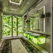 Klassisches Badezimmer 3d model