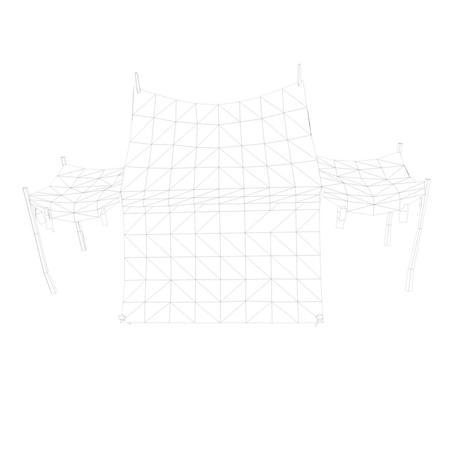 Tente royalty-free 3d model - Preview no. 16