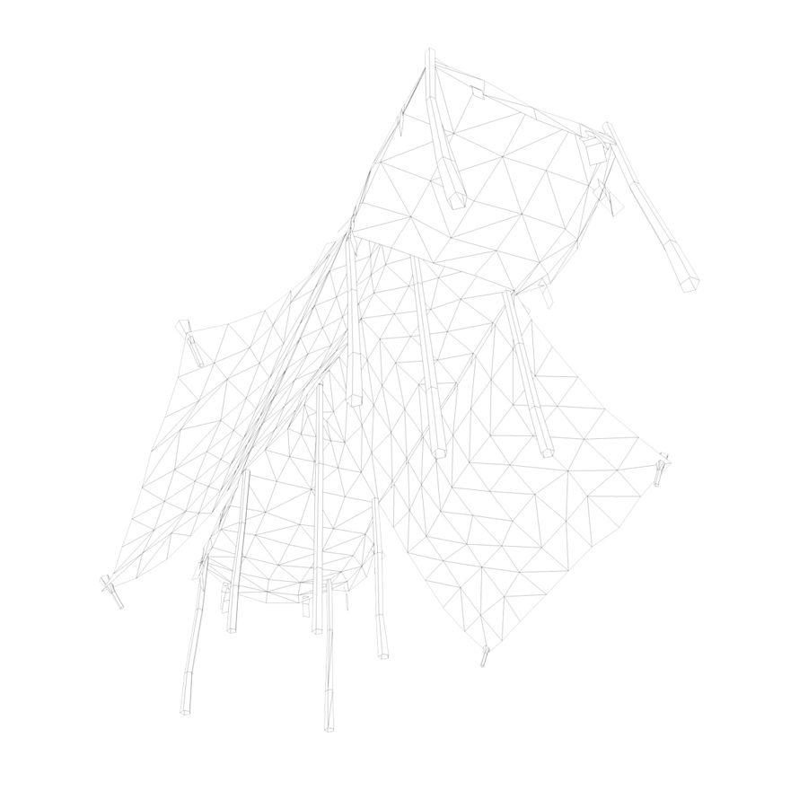 Tente royalty-free 3d model - Preview no. 18