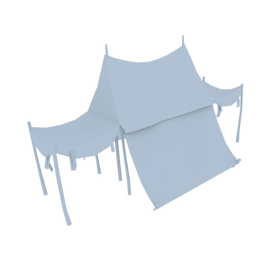 Tente royalty-free 3d model - Preview no. 9