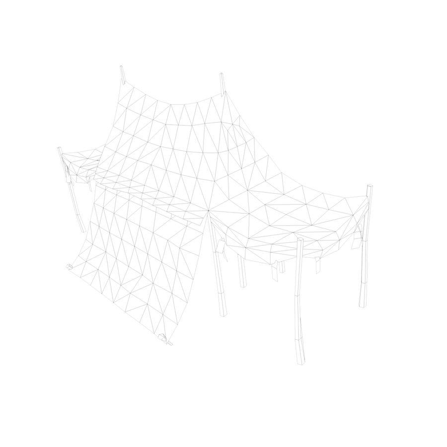 Tente royalty-free 3d model - Preview no. 17
