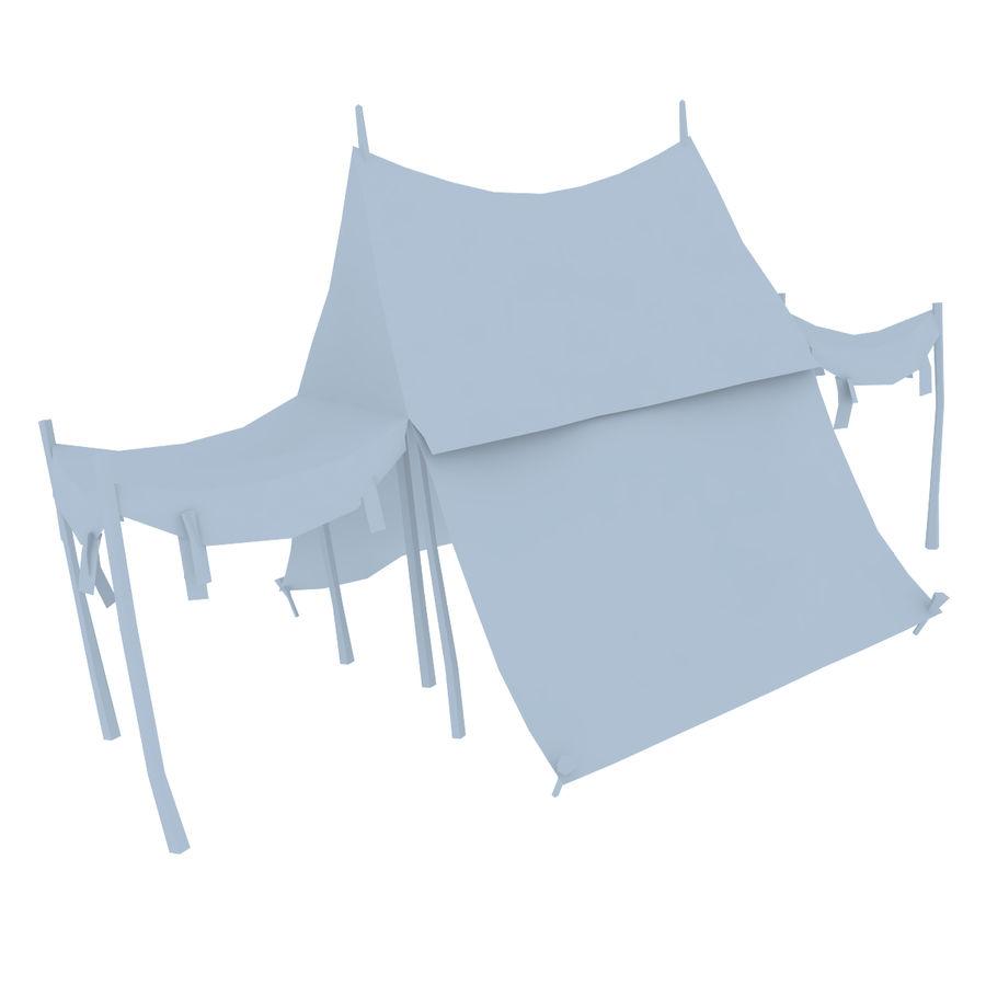 Tente royalty-free 3d model - Preview no. 14