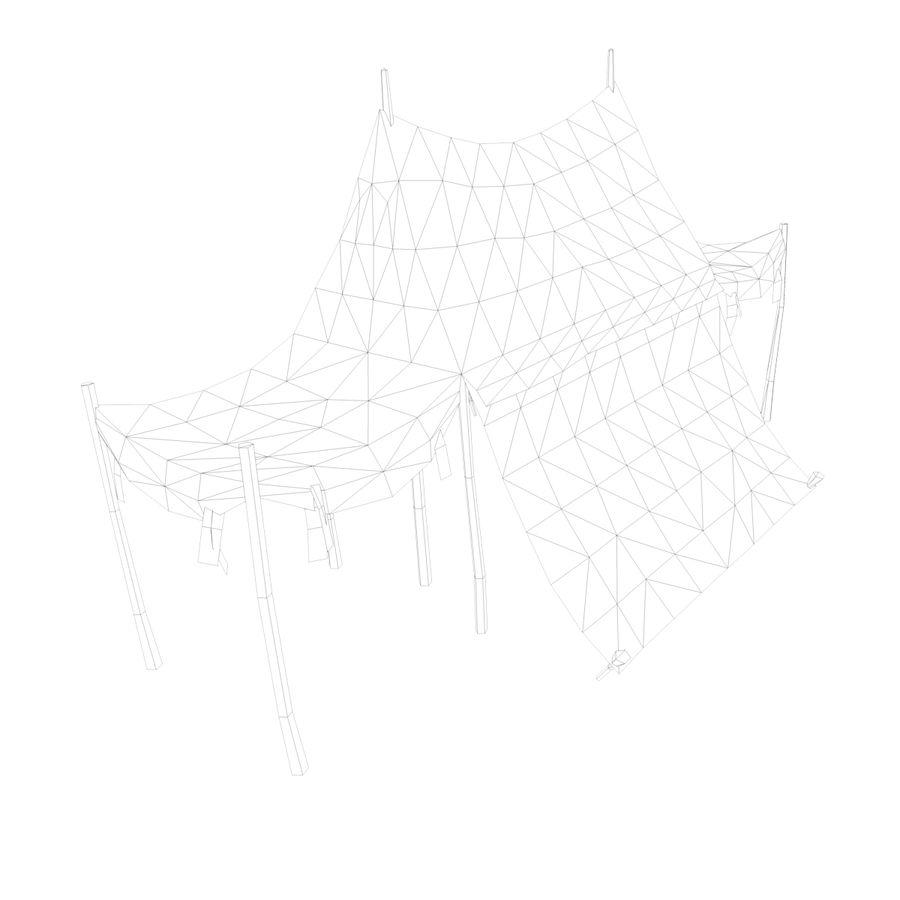 Tente royalty-free 3d model - Preview no. 15