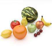 Fruits Pack 3d model