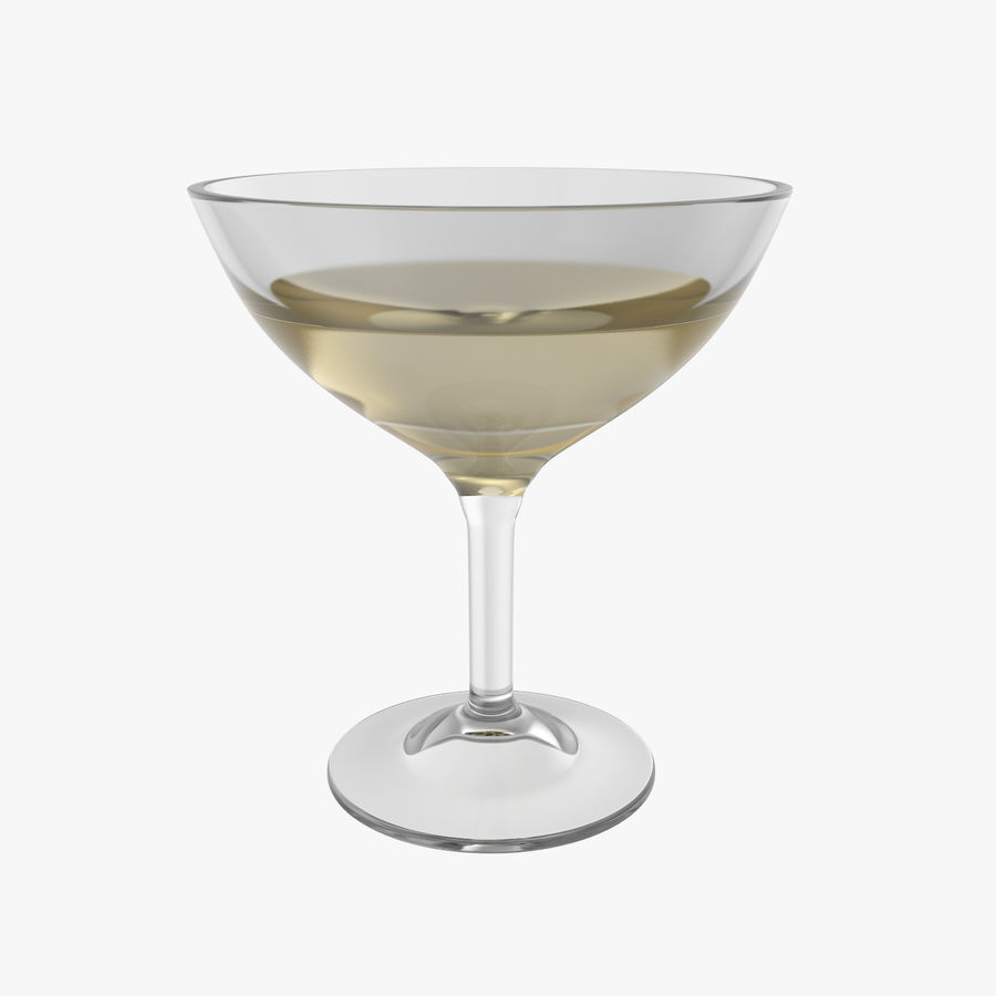 Шампанское купе royalty-free 3d model - Preview no. 1