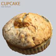 Cupcake scène HD 3d model