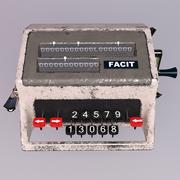 Facit Analog Calculator 3d model