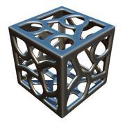 立方体设计 3d model
