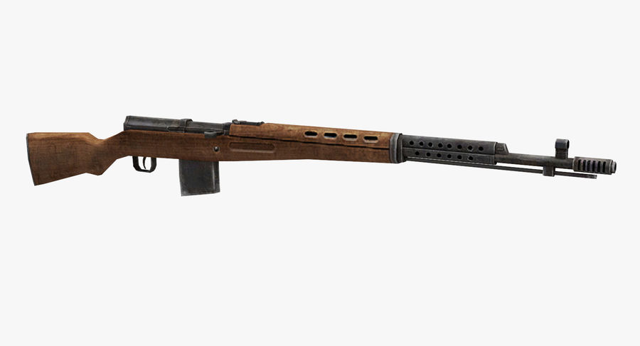 SVT-40 royalty-free 3d model - Preview no. 2