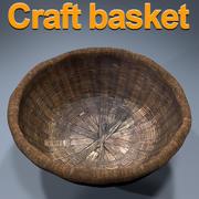 Basket craft HD 3d model