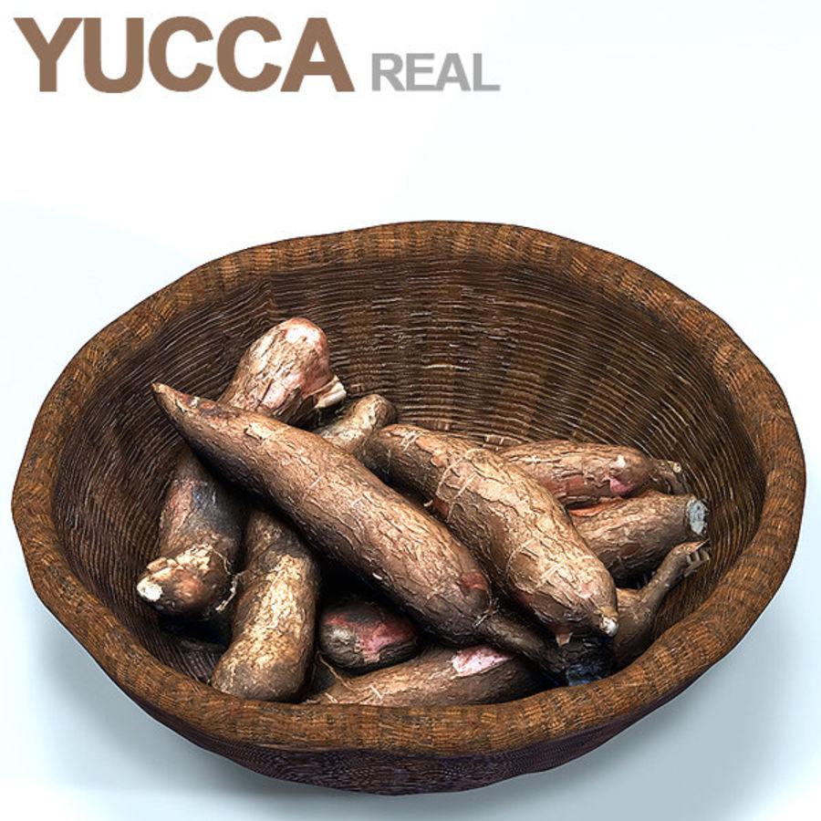 YUCCA BASKET HD royalty-free 3d model - Preview no. 1