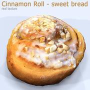 Cinnamon roll HD 3d model