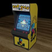 arcade machine mini 3d model