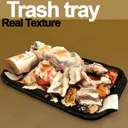 Trash textured HD 3d model
