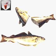 Fisk låg-poly 3d model