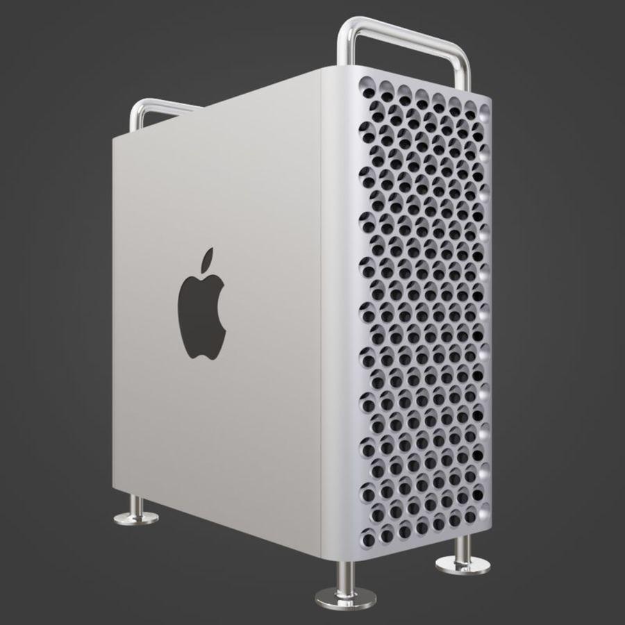 Mac Pro 2019 royalty-free 3d model - Preview no. 1
