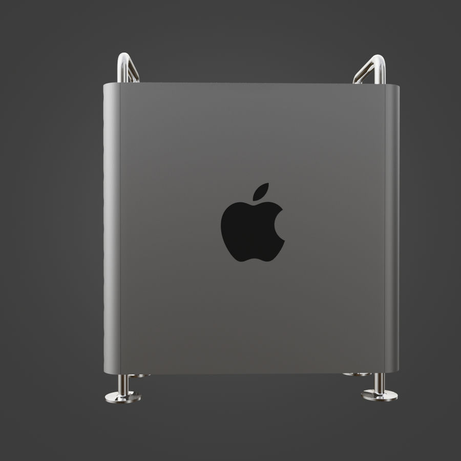 Mac Pro 2019 royalty-free 3d model - Preview no. 10