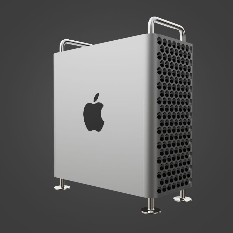 Mac Pro 2019 royalty-free 3d model - Preview no. 5