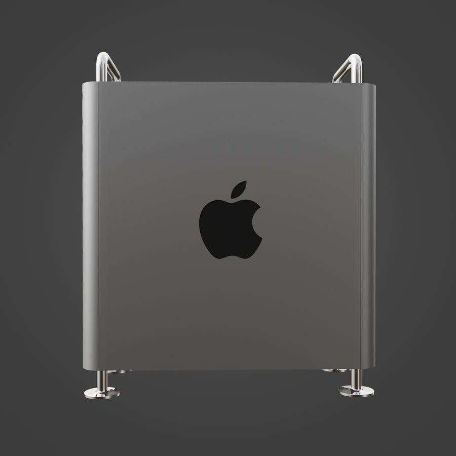 Mac Pro 2019 royalty-free 3d model - Preview no. 6