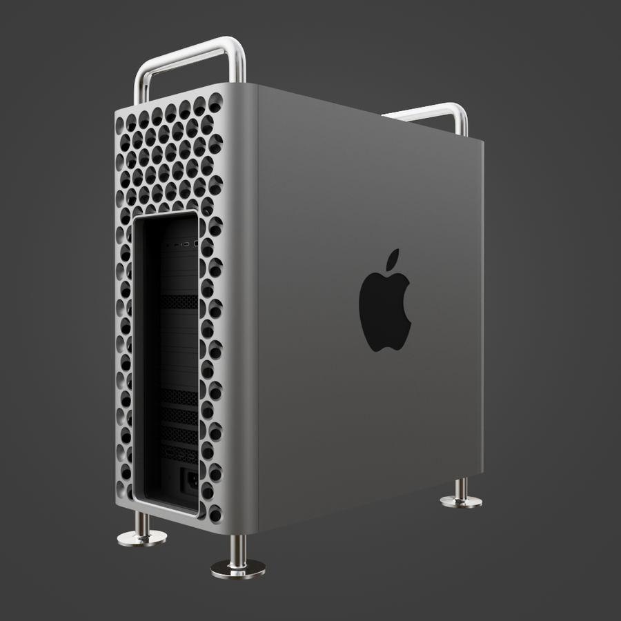 Mac Pro 2019 royalty-free 3d model - Preview no. 7