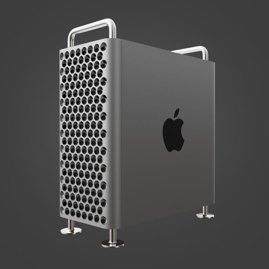 Mac Pro 2019 royalty-free 3d model - Preview no. 11