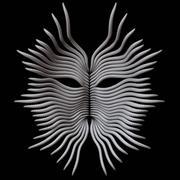 Máscara modelo 3d