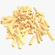 Droge Pasta Stapel 3d model