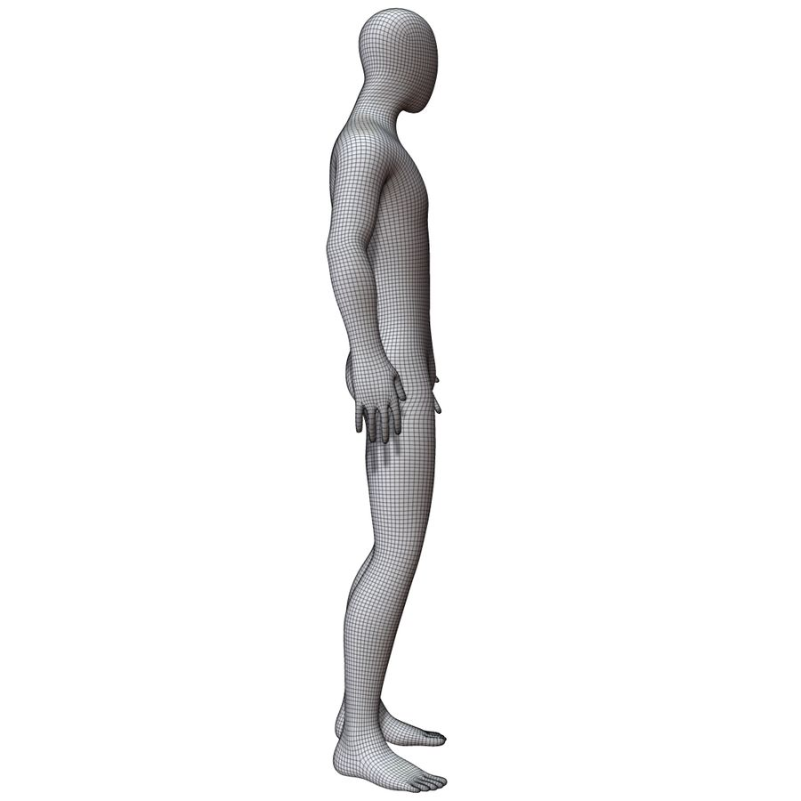 Mannequin Homme royalty-free 3d model - Preview no. 13