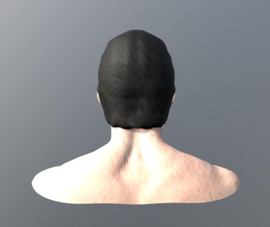 托尼·斯塔克脸 royalty-free 3d model - Preview no. 4